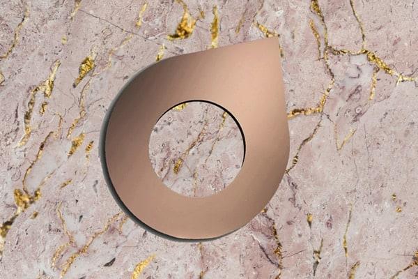 gold nude wall art metal Nordic