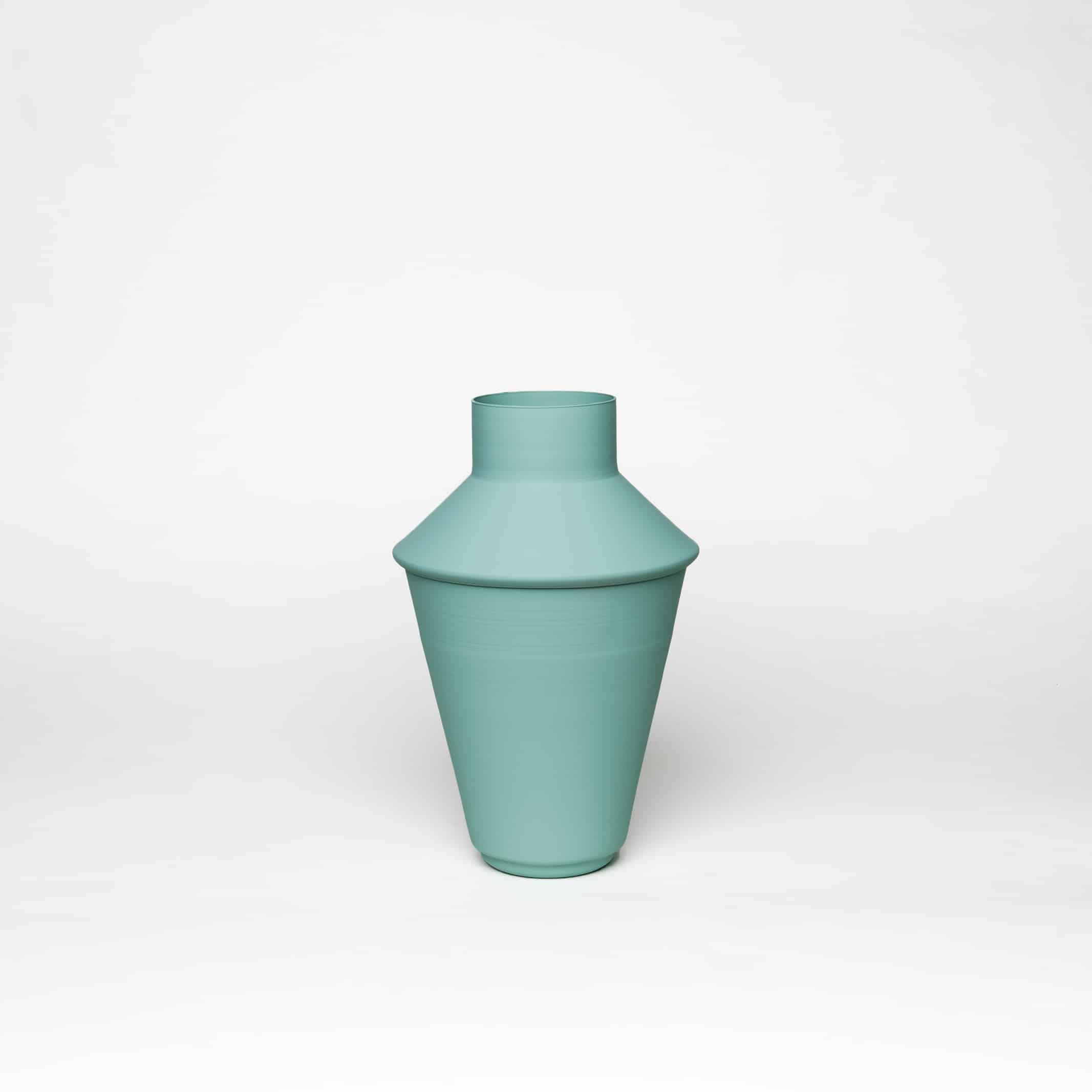 כדים כדי מתכת בצבע טורקיז