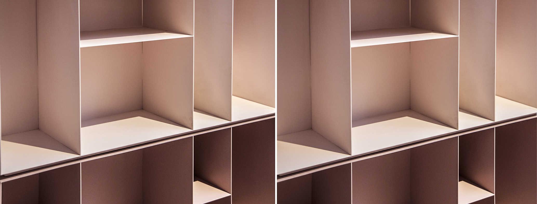 וורודה ספרית מתכת דקיקה פחים